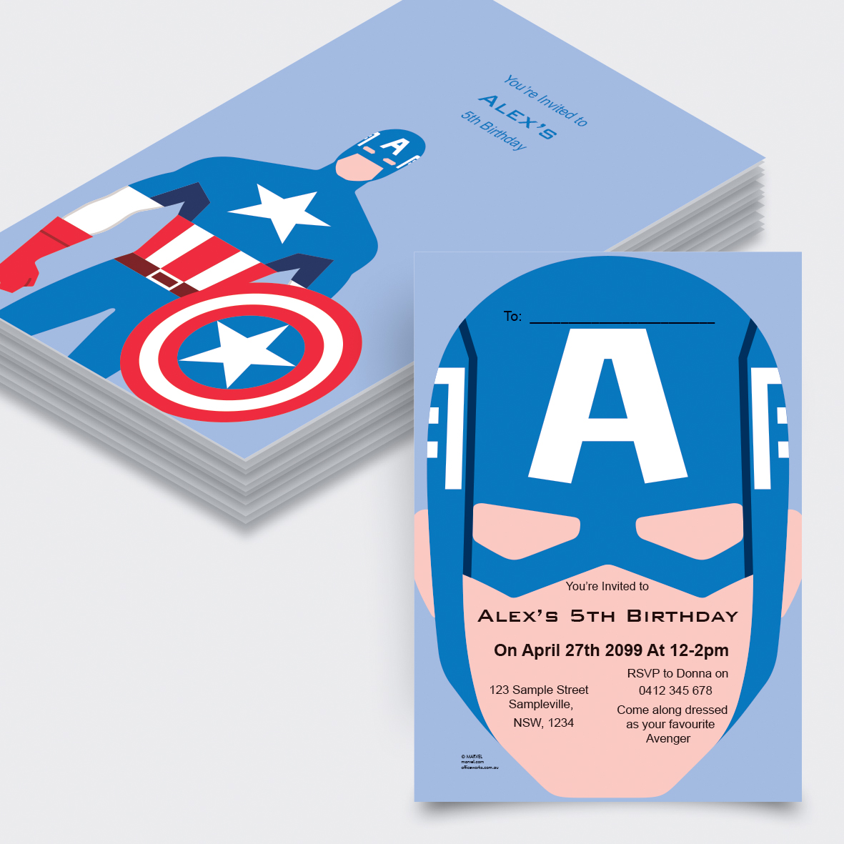 Print Copy Officeworks Color Circuit Board Electronic Template Large Business Cards Pack Of Avengers Captain America